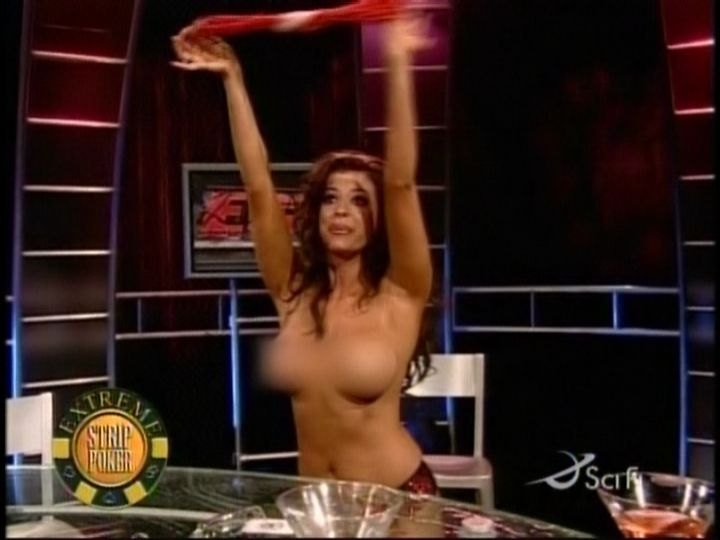 Candice michelle strip poker uncensored